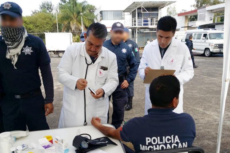 Durante el 2018, la institución otorgó 12 mil 287 consultas a elementos policiales, donde se realizaron evaluaciones generales, odontológicas, así como sesiones de rehabilitación física, entre otros