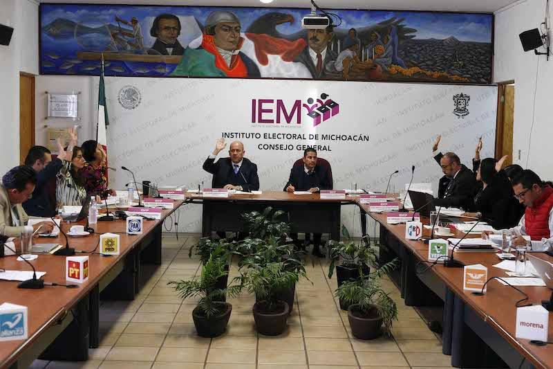 En sesión extraordinaria del Consejo General se aprobó la destrucción de material electoral