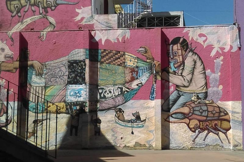 Este 2019 nombrado por la ONU como el Año Internacional de las Lenguas Indígenas se realizará un Mural Comunitario con un poema en purépecha