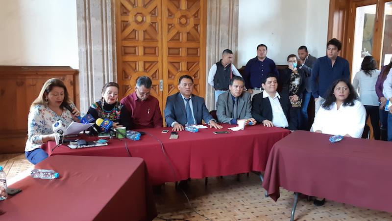 Fermín Bernabé y Cristina Portillo aseguraron que pese a que han sido respetuosos de su ex coordinador, él ha promovido una campaña de descalificaciones contra ellos