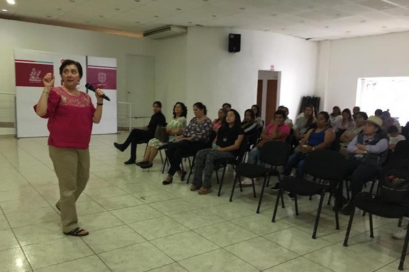 En coordinación con el IMUMO y el gobierno del estado se impulsarán programas de apoyo a proyectos productivos de las mujeres de Morelia: Cendejas Guízar