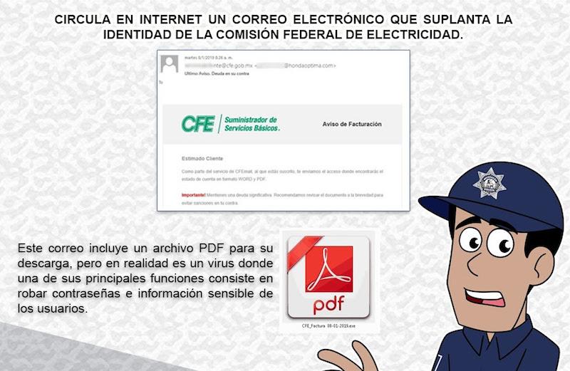 Este tipo de virus ha sido utilizado desde el año 2015 en México, país que ha registrado el 45 por ciento de la actividad a nivel mundial de este malware propagado por medio de campañas que suplantan la identidad de instituciones