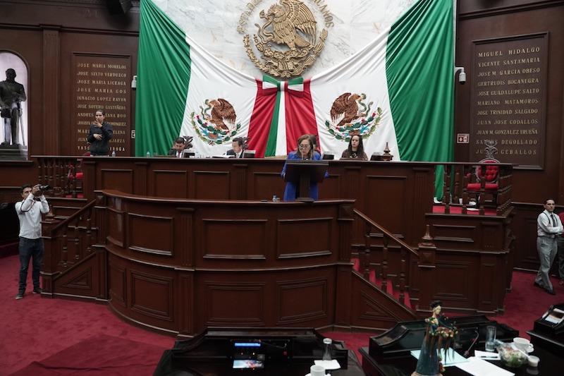 La legisladora panista expresó que en el tema laboral falta impulsar una serie de acciones para avanzar en la equidad