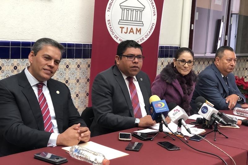 Los magistrados especializados seguirán atendiendo y dando cauce legal a los amparos promovidos en cuanto terceros interesados: TJAM