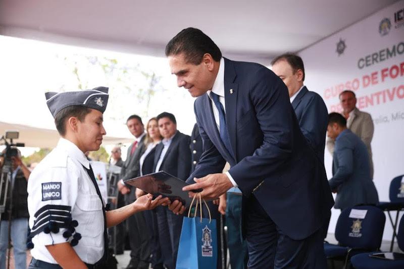 Reitera Alfonso Durazo su reconocimiento al Gobierno de Michoacán por el interés y compromiso que ha dado al tema de la seguridad