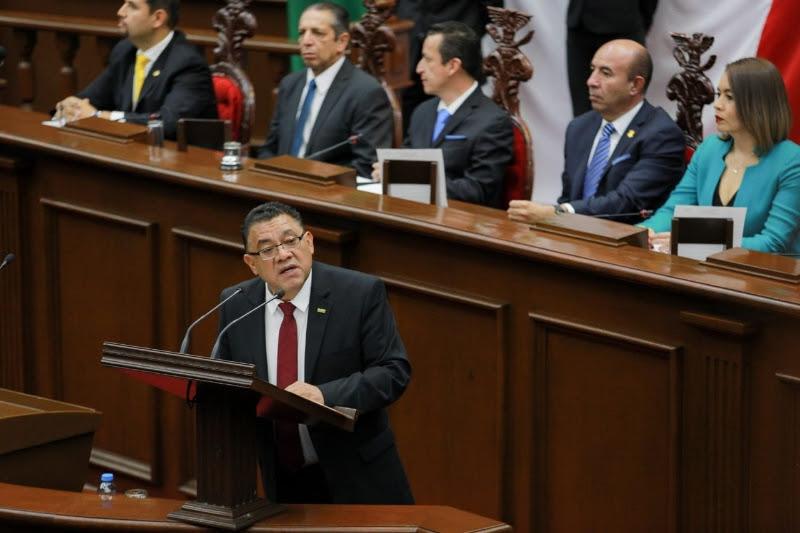 Decirles a las y los michoacanos que los que comulgamos con la Cuarta Transformación seguiremos dando la batalla para erradicar la corrupción en Michoacán: Bernabé Bahena