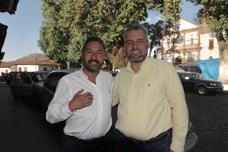 Ramírez Bedolla sostuvo una reunión de trabajo con Víctor Báez, coordinador de los presidentes municipales de Morena, a quien expuso los planteamientos esenciales de su iniciativa de ley de presupuesto participativo