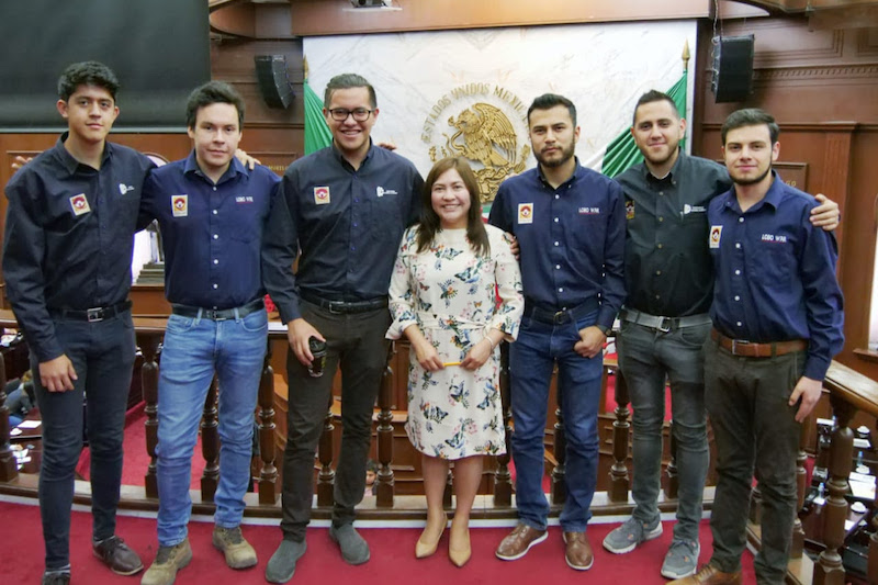 Granados Beltrán destacó el triunfo académico obtenido por los estudiantes del ITSCH de la carrera de Mecatrónica, en la 8ª edición ROBOMATRIX Continental 2018