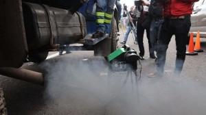 Se extiende la verificación de vehículos altamente contaminantes a otros municipios