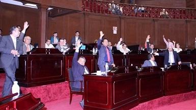 A propuesta del PRI, se aprobó por mayoría retirar de la orden del día la notificación acerca de la ausencia sin permiso del alcalde Guillermo Valencia