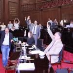 El pleno del Congreso del Estado conoció y aprobó el dictamen elaborado por la Comisión de Turismo en torno al Primer Informe de Gobierno