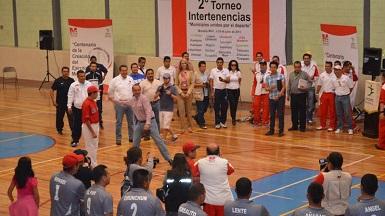 La inauguración de los juegos se registró en la ciudad de Morelia