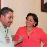 La presidenta de la Comisión de Migración del Congreso del Estado se reunió con representantes de la asociación de migrantes Los Dos Méxicos