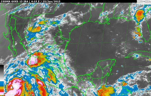 También se espera oleaje alto en las costas michoacanas