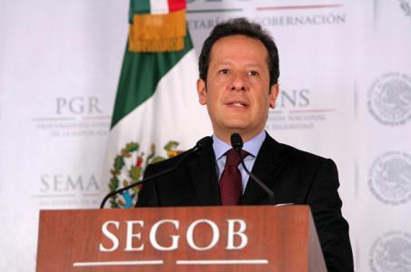 Se han restablecido las actividades en la entidad y han sido aprehendidos 43 presuntos responsables de ilícitos, afirmó Eduardo Sánchez, vocero del gabinete de seguridad