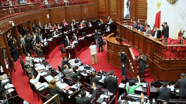 Una nutrida sesión de pleno del Congreso del Estado se espera para hoy