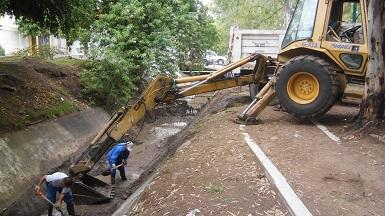 Con trabajos de limpieza beneficiaron a habitantes de al menos 5 colonias de la zona