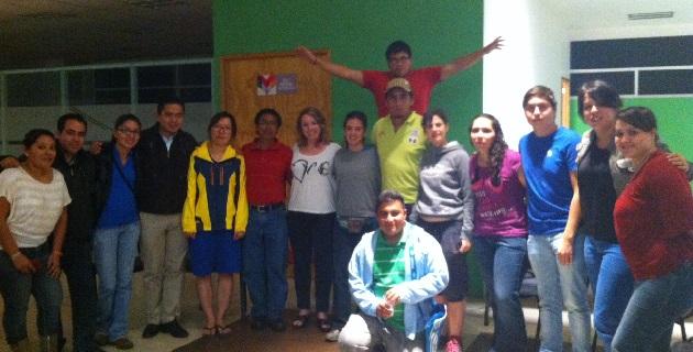 Arribaron a Morelia 9 jóvenes procedentes de diversos países, así como de otros puntos del país
