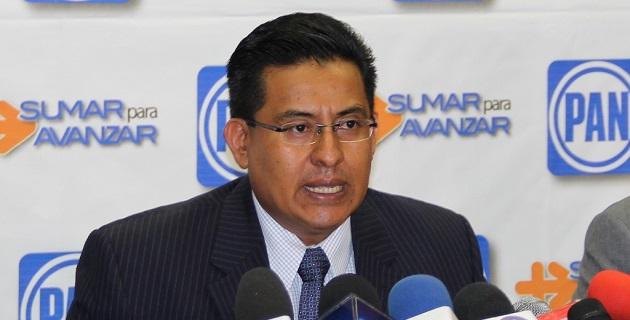 La dirigencia estatal del blanquiazul se expresa a favor de analizar con la Federación acciones a tomar ante la violencia que ha repuntado en Michoacán