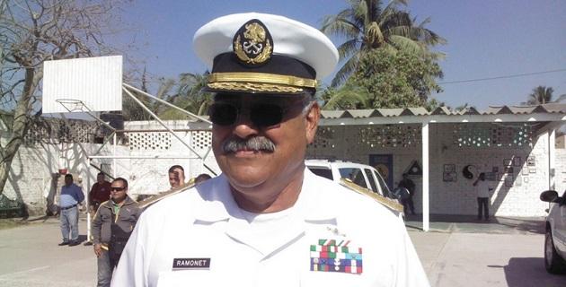 Rápida reacción de la Marina Armada de México tras el atentado en que perdió la vida su comandante de la Octava Zona Naval con sede en Puerto Vallarta, Jalisco