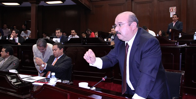 Asegura el diputado priísta que ya prepara un proyecto que en su momento deberá ser trabajado con la Comisión de Asuntos Electorales del Congreso del Estado