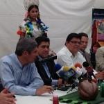 La CASART y el Ayuntamiento de Paracho encabezaron el anuncio formal de la Feria ante los representantes de los medios de comunicación