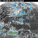 Esta mañana el fenómeno meteorológico se ubicó a casi 1 mil 500 kilómetros de Baja California Sur