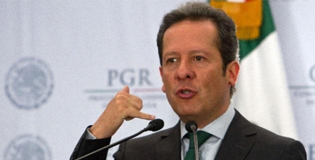 """""""La PGR ofrecía recompensa de 3 millones de pesos por información que llevara a su captura"""", dijo Sánchez en conferencia de prensa"""