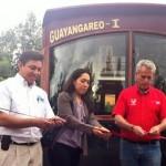 Las salidas de la nueva ruta de tranvía turístico serán del módulo de atención a turistas que se encuentra en el Centro de Convenciones y Exposiciones