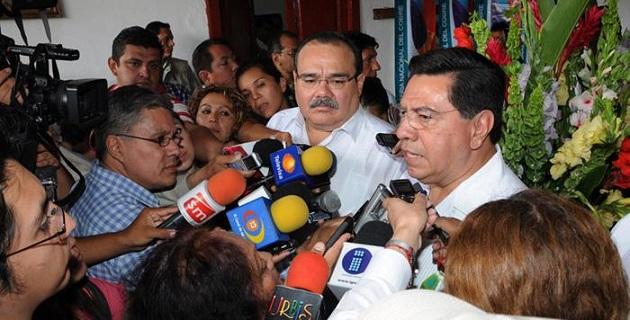 Ramírez Marín, en representación de la Federación, se sumó a los festejos de la Feria de Santa Clara del Cobre