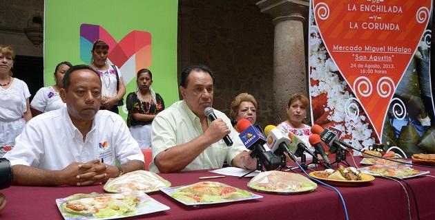 Para el disfrute de turistas y las familias morelianas, comerciantes preparan esta muestra gastronómica, en donde además se ofrecerá un amplio programa cultural