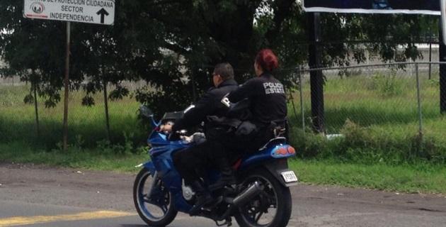 Para motociclistas y sus pasajeros es obligatorio el uso del caso de seguridad