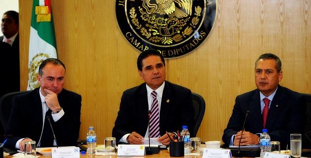 Aureoles Conejo ofreció responsabilidad y apertura para generar acuerdos que satisfagan a las fuerzas políticas que integran el Congreso, siempre a favor de los mexicanos