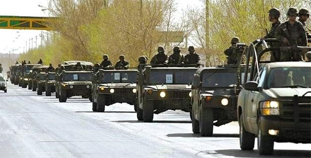 De acuerdo con fuentes de la Secretaría de la Defensa Nacional, al estado arribaron 2,000 soldados, para las zonas de los ataques; sin embargo, la mayoría se quedarán en Tierra Caliente