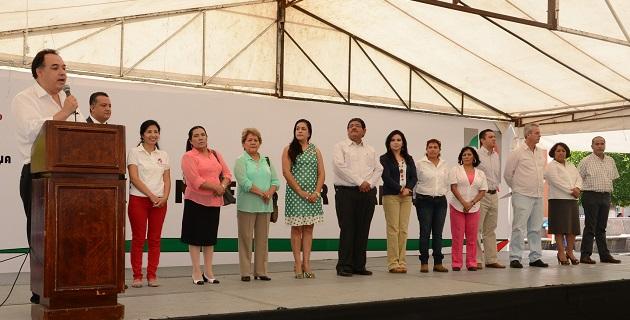 Con esta actividad los priistas salen a la calle a decirle a los morelianos que se trabaja de manera coordinada con las mujeres, aseguró Marco Antonio González