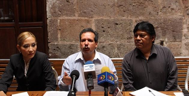 El pasado 5 de octubre del mismo año se formo en Morelia el frente regional en una reunión que tuvo lugar en la Casa Natal de Morelos, con el fin de integrarse al movimiento nacional