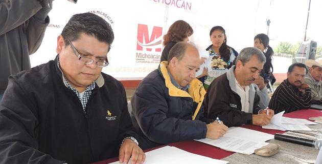 En este contexto se firmaron 25 convenios de colaboración con comunidades indígenas y la ANDH