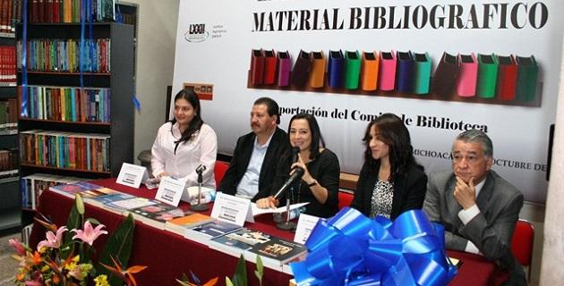 La diputada Ceballos Hernández hizo énfasis en la importancia y trascendencia del acervo histórico y documental acumulado a lo largo de los años en el Archivo y Biblioteca del Congreso