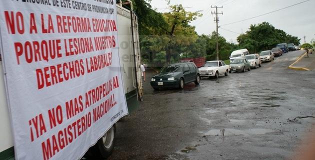 Los integrantes de la CNTE en Michoacán iniciaron un paro indefinido de labores desde el pasado 16 de octubre