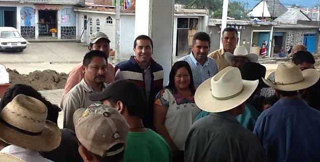 La representante popular exhortó al gobierno federal, a través de la Procuraduría Agraria y el RAN, a seguir trabajando por las comunidades indígenas del estado