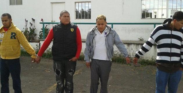 La detención se llevó a cabo alrededor de las 13:00 horas del 31 de diciembre, en la avenida Solidaridad, en las inmediaciones de Soriana del Río