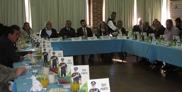 Los cursos tienen como objetivo que los policías municipales conozcan sus nuevas responsabilidades en el nuevo sistema de justicia penal