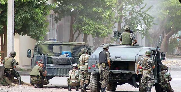 Es el segundo enfrentamiento que se reporta este miércoles entre militares y presuntos criminales en Michoacán