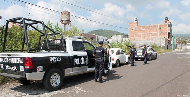 En el caso del vehículo recuperado, se encontraba abandonado en la calle Albino Zertuche s/n esquina Manuel Tello de la colonia el Realito y presentaba huellas de desvalijamiento
