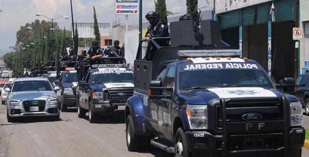 """A las personas detenidas les fue leída la """"Cartilla de Detenidos que Asisten a las Personas en Detención"""", y fueron puestos a disposición del Agente del Ministerio Público de la Federación"""