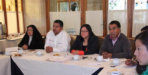Legisladores michoacanos también convinieron promover la flexibilización de las reglas de operación de programas federales para las etnias
