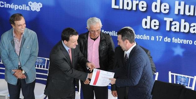El comisionado federal de la comisión Federal de Protección Contra Riesgos Sanitarios, Mikel Arriola, realizó una nueva gira de trabajo por Morelia