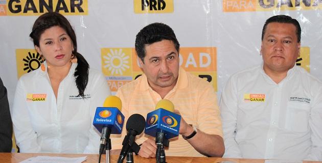 El perredismo michoacano solicitará una nueva reunión con el comisionado nacional, Alfredo Castillo, para tratar el tema: Báez Ceja