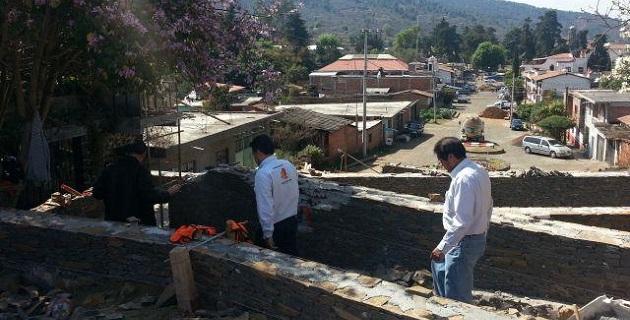 Se supervisaron las obras correspondientes a la Calzada que va de las Yácatas al Ex Convento Franciscano de Tzintzuntzan y revisó las acciones realizadas en materia de imagen urbana en el municipio de Quiroga
