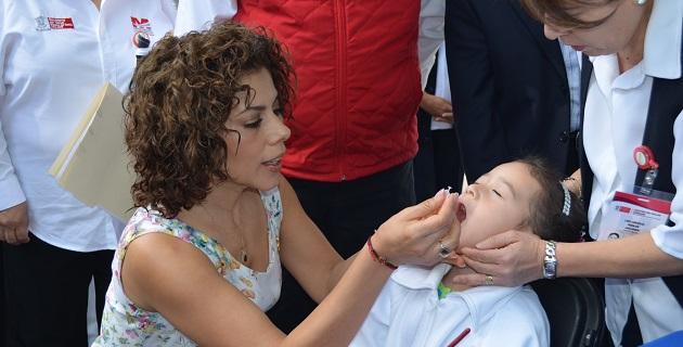 En total, 30 brigadas de vacunación fueron abanderadas por la presidenta del DIF-Morelia